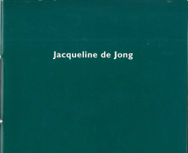 Preview catalogus 'Jacqueline de Jong: Harvest', 2000.