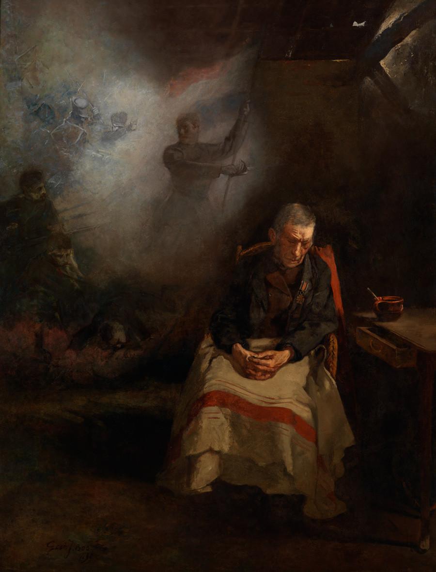 Gerard Jan Bos, Oude veteraan, 1899