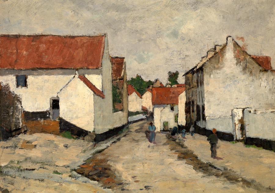 Geo Poggenbeek, Frans dorp, 1897