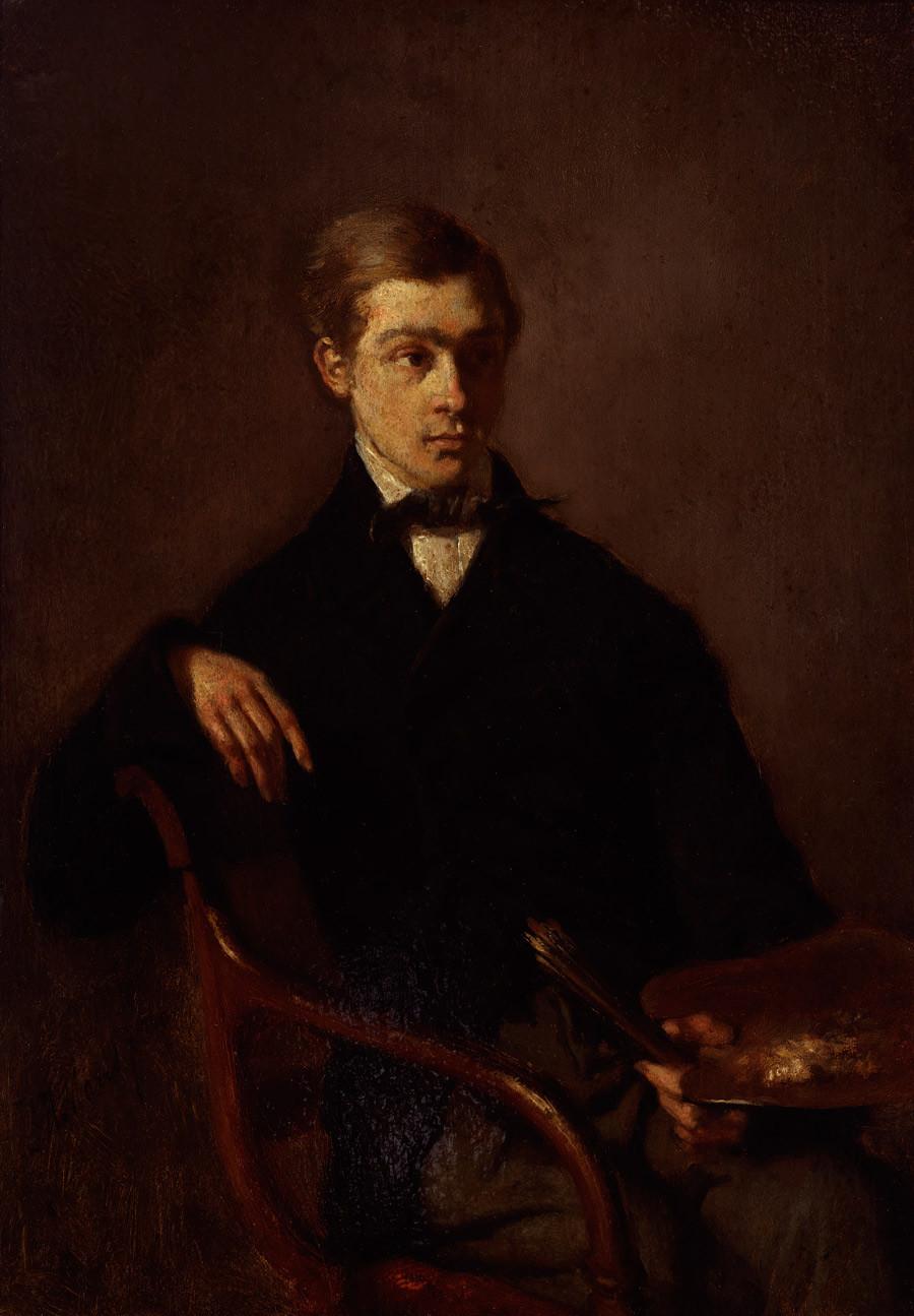 Jacob Maris, De schilder G.J. Hoffmann, 1856