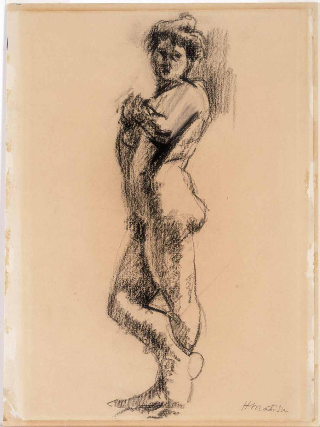 Henri Matisse, Staand naakt, ca. 1900