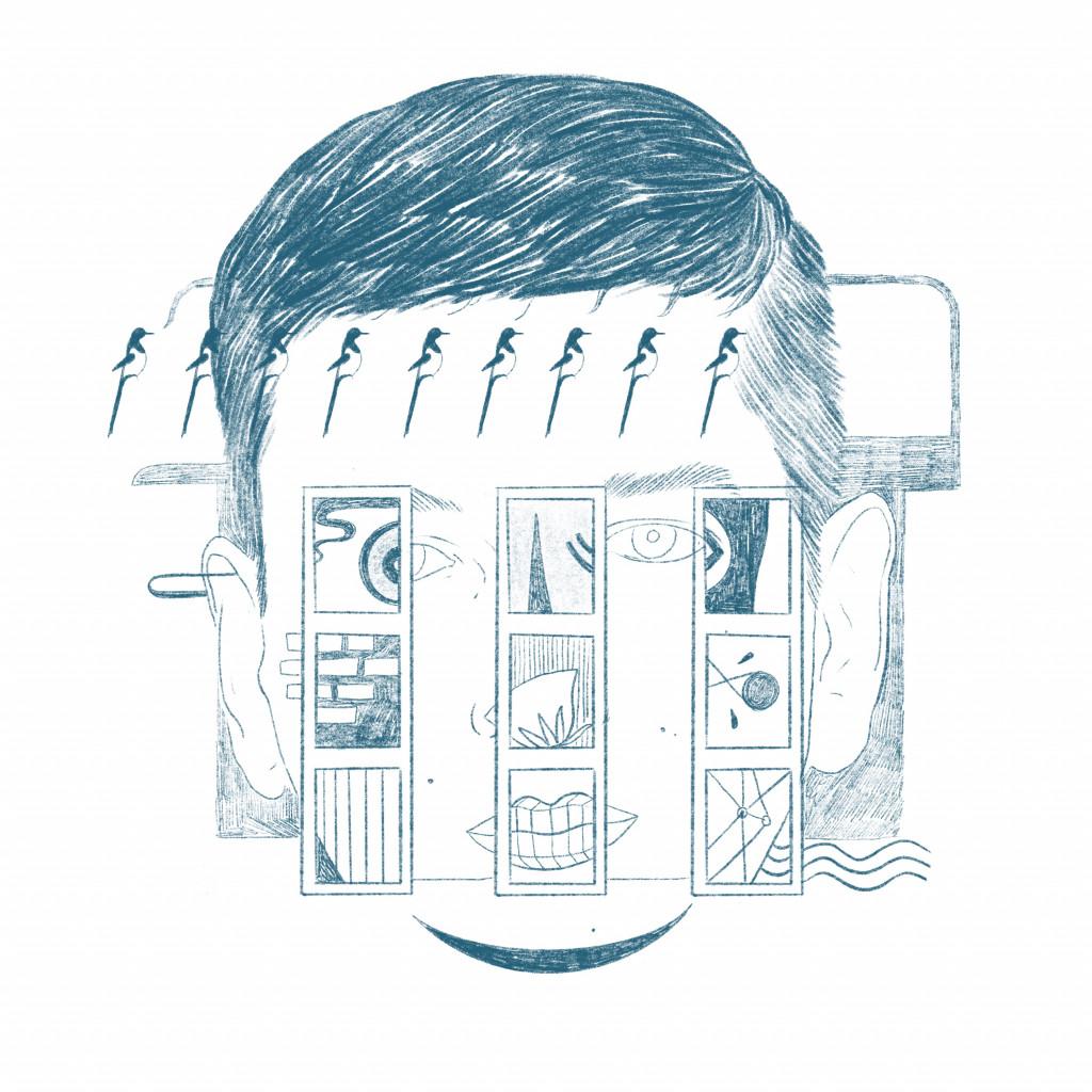 "Illustration by Haitham Haddad after Kasper Bosmans' ""9 Sisters,"" 2020."