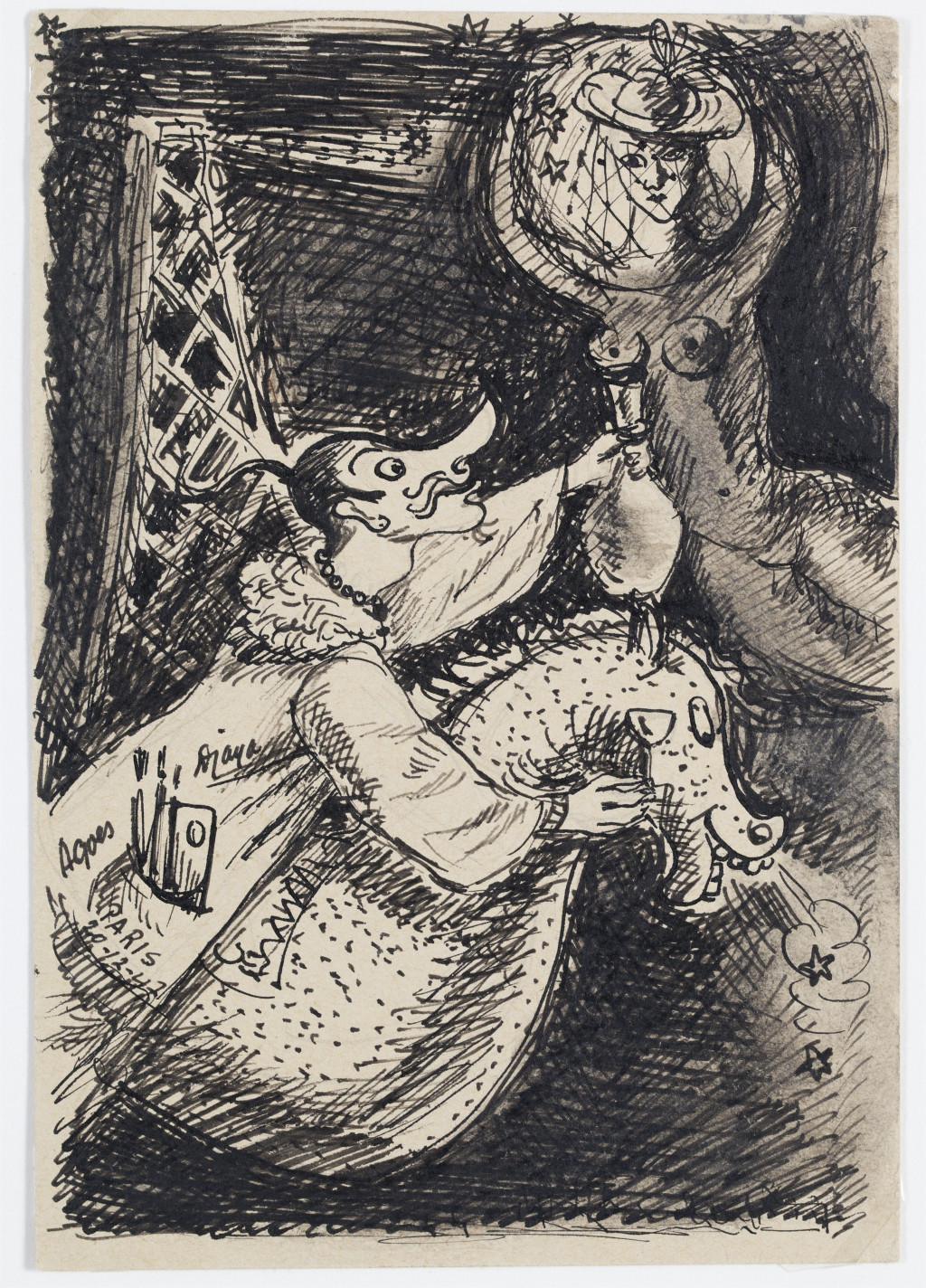 Ill.1 Agus Djaya, Untitled, 1947, Stedelijk Museum Amsterdam