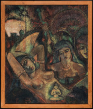 Ill.7	Agoes Djaya, Mimpi Maya (Maya's Dream), 1941, collection Nationaal Museum van Wereldculturen, coll. no. TM-1791-1