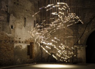 5. Studio Drift, Flylight, Arsenale, Venice (2014). Courtesy of Carpenters Workshop Gallery
