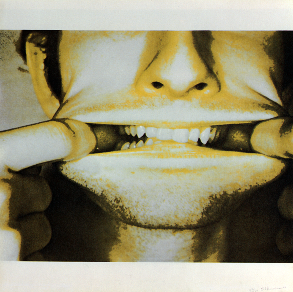 Bruce Nauman, 'Studies for Holograms' (e), 1970. Collectie Stedelijk Museum Amsterdam. © 2021 Bruce Nauman / Artists Right Society (ARS), Courtesy Sperone Westwater, New York.