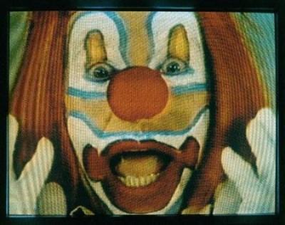 Bruce Nauman, Clown Torture, 1987, coll. The Art Institute of Chicago / Art Resource, NY/ Scala, Florence © 2021 Bruce Nauman / Pictoright Amsterdam