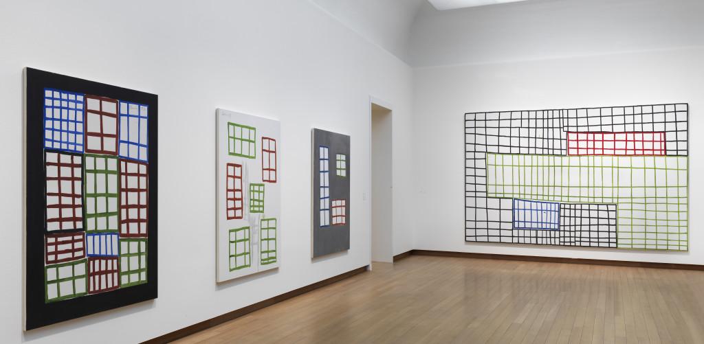 Installation Views, Günther Förg A Fragile Beauty, 2018, Stedelijk Museum Amsterdam. Photo: Gert Jan van Rooij