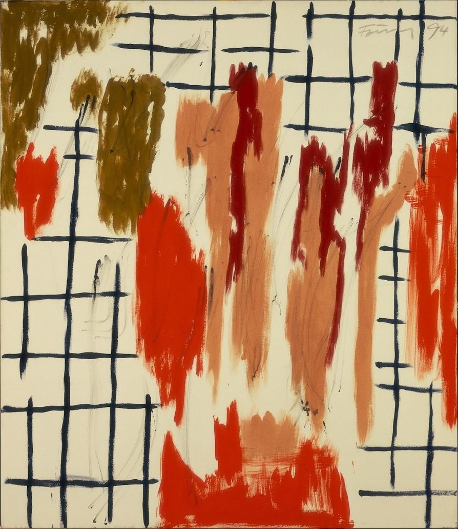 Günther Förg, Ohne Titel, 1994, Collection Stedelijk Museum Amsterdam. Estate Günther Förg, Suisse c/o Pictoright Amsterdam 2017