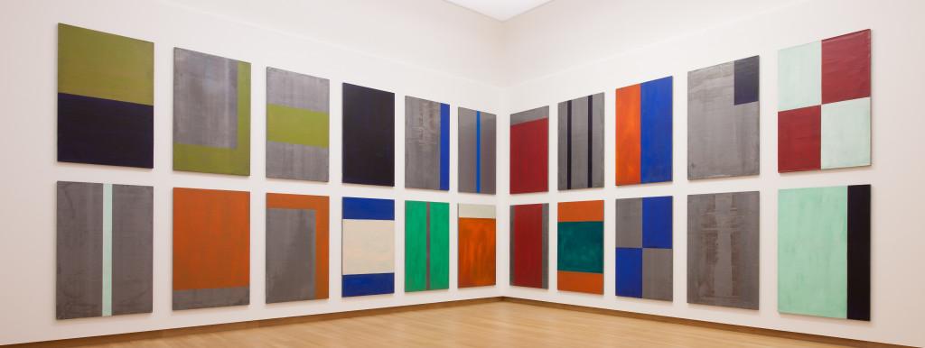 Günther Förg, Ohne Titel, 1991, Collectie Stedelijk Museum Amsterdam. Estate Günther Förg, Suisse c/o Pictoright Amsterdam 2017