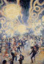Jan Sluijters, 'Bal Tabarin' (1907). Collection Stedelijk Museum Amsterdam.