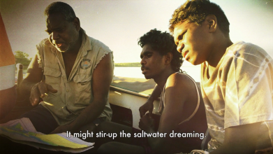 Karrabing Film Collective, 'Wutharr: Saltwater Dreaming', 2016.