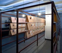 Ilya Kabakov, 'De Schoolbibliotheek', 1995. Collectie: Stedelijk Museum Amsterdam