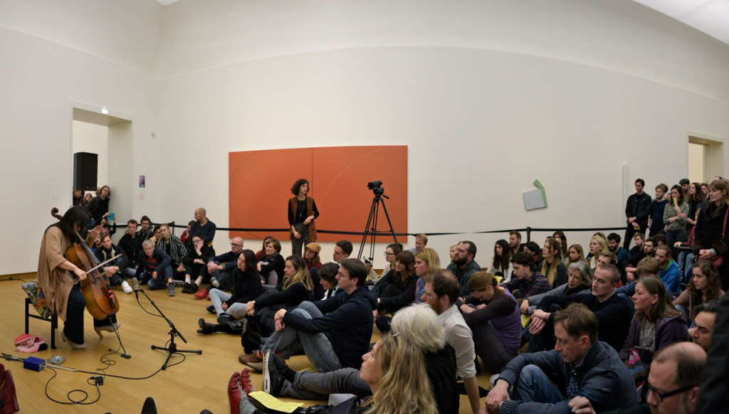 Okkyung Lee at Sonic Acts Academy 2016, Stedelijk Museum Amsterdam