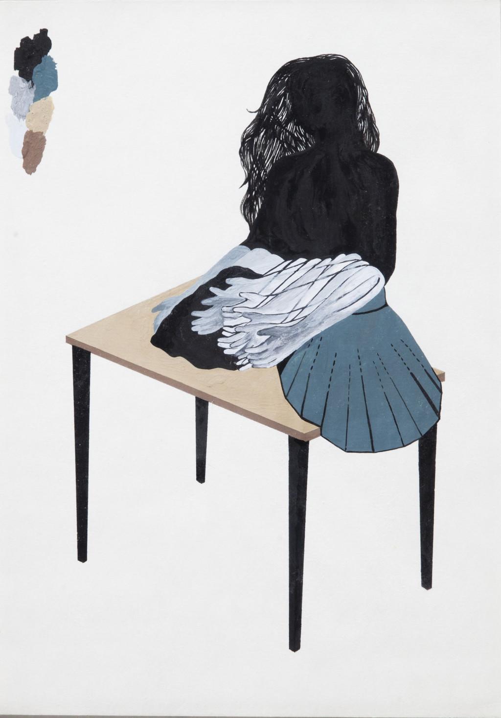 Otobong Nkanga, 'Caress', 2010. Collection Stedelijk Museum Amsterdam