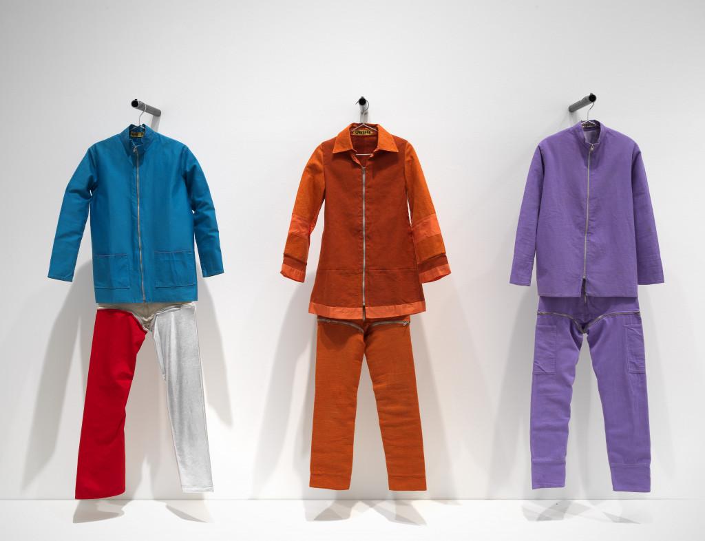 Iris de Leeuw, Space suits, 1966-1967, Rijksmuseum Amsterdam. Photo: Gert Jan van Rooij