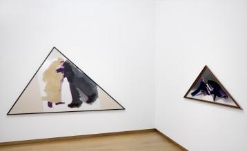 Ger van Elk, Installation view Forever Young?, 2018, Stedelijk Museum Amsterdam. Photo: Gert Jan van Rooij