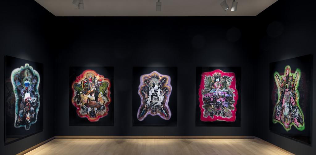 Installation view Raquel van Haver – Spirits of the Soil, 2018. Stedelijk Museum Amsterdam. Photo: Gert Jan van Rooij