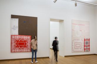 Cosima von Bonin, 'Markus und Blinky', 2000. Collectie Stedelijk Museum Amsterdam. Foto: Peter Tijhuis