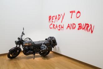 Marc Bijl, 'Suicide Machine', 2003. Collectie Stedelijk Museum Amsterdam. Foto: Peter Tijhuis
