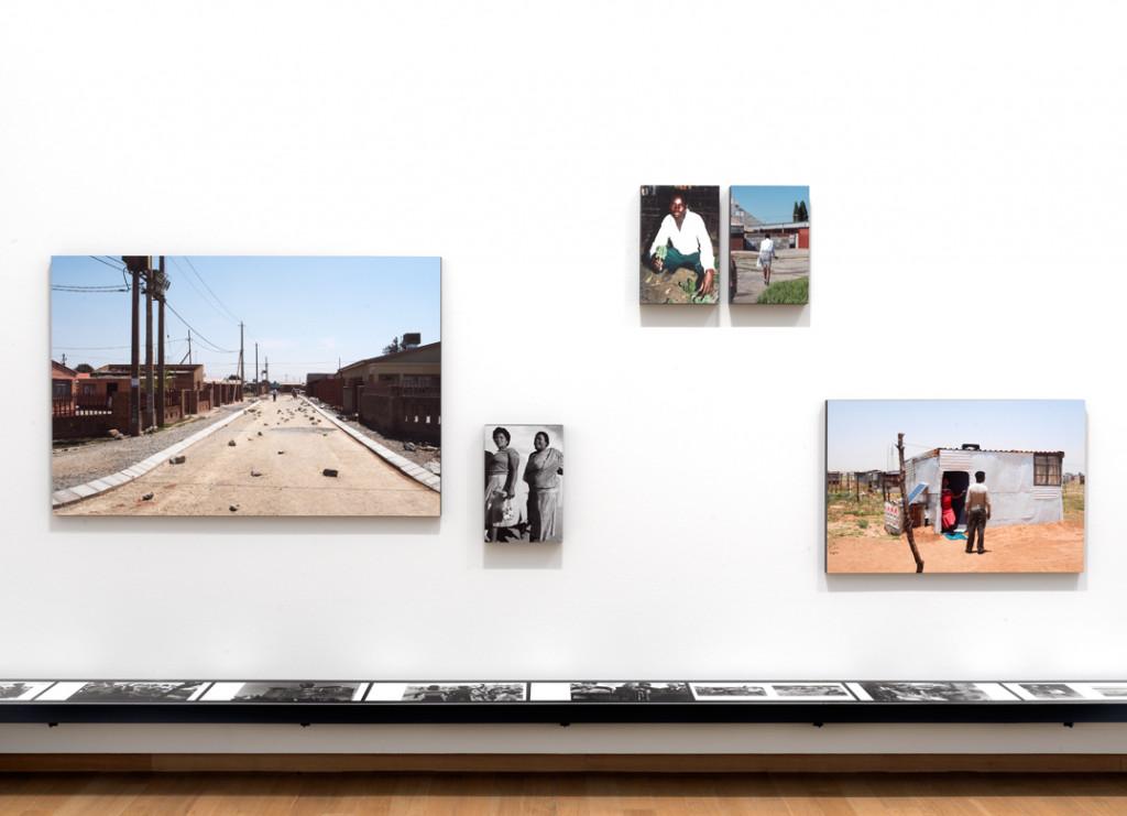 Installation view Welkom Today – Ad van Denderen, Lebohang Tlali and many others, 2019, Stedelijk Museum Amsterdam.  Photo: Gert Jan van Rooij