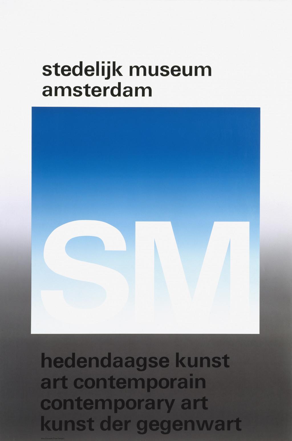 Wim Crouwel, 'Stedelijk Museum Amsterdam', 1971. Collection Stedelijk Museum Amsterdam