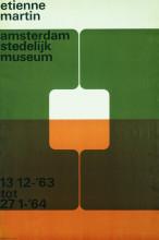 Wim Crouwel, 'Etienne Martin', 1963. Collectie Stedelijk Museum Amsterdam