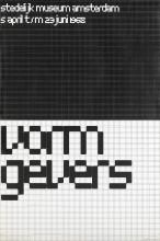 Wim Crouwel,  'Vormgevers', 1968. Collectie Stedelijk Museum Amsterdam