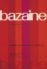 Wim Crouwel, 'Bazaine', 1958. Collectie Stedelijk Museum Amsterdam