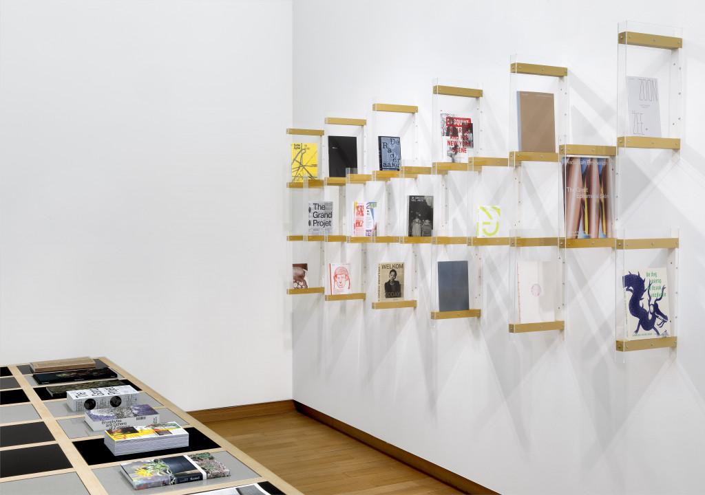 Installation view The Best Dutch Book Designs 2019. Photo: Gert Jan van Rooij