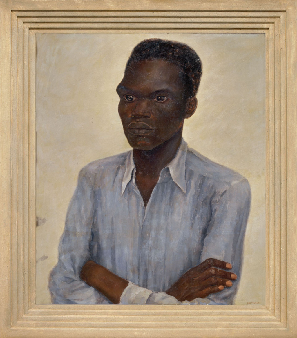Nola Hatterman, 'arbeider', 1939, oil paint on canvas. Collection Stedelijk Museum Amsterdam