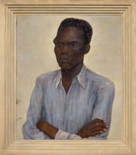 Nola Hatterman, 'arbeider', 1939, olieverf op doek. Collectie Stedelijk Museum Amsterdam