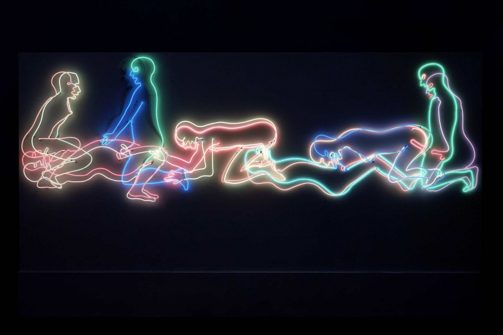 Bruce Nauman, 'Seven Figures', 1985. Collection Stedelijk Museum Amsterdam