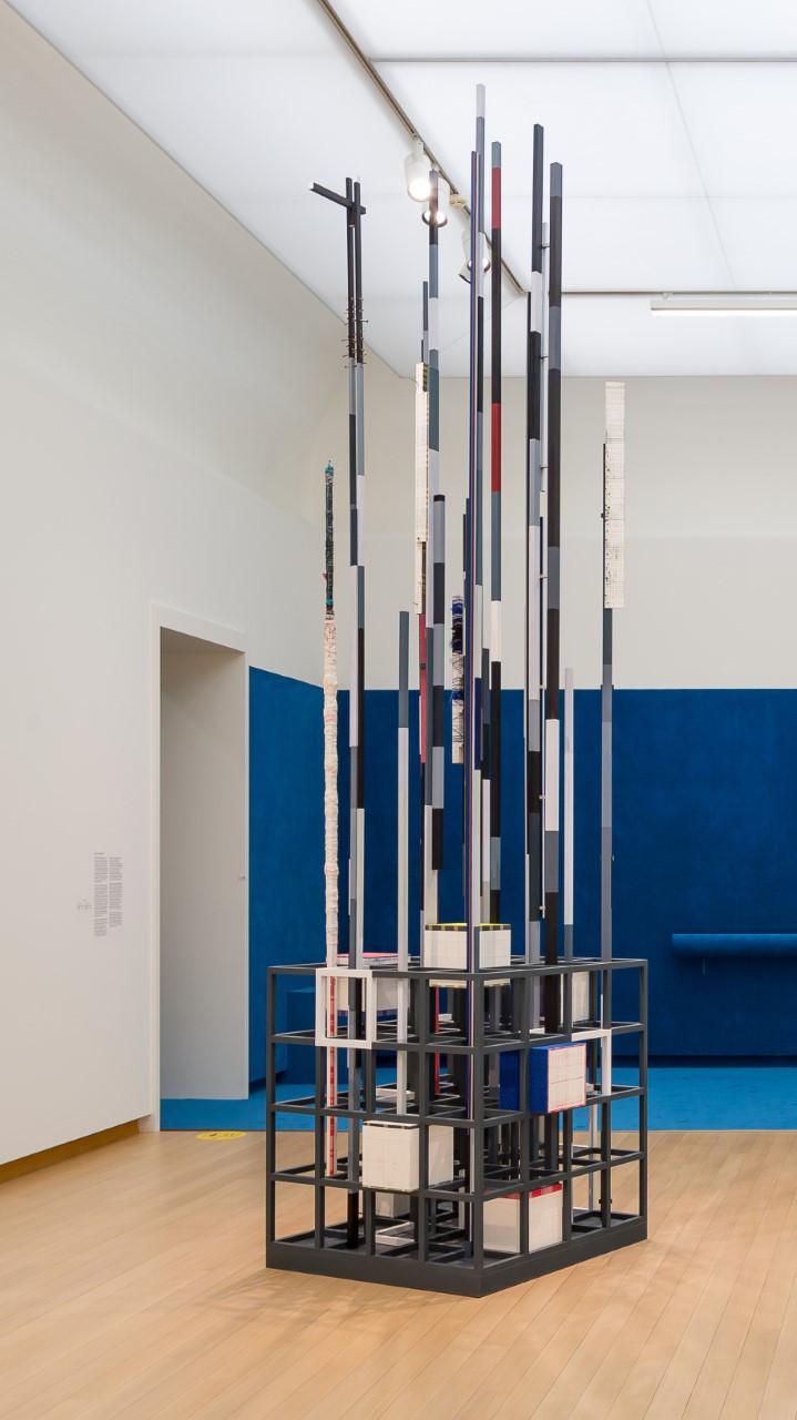 Remy Jungerman, 'PROMISE IV', 2018–2019. Zaalopname 'In the Presence of Absence. Voorstellen voor de museumcollectie.' Foto Peter Tijhuis.
