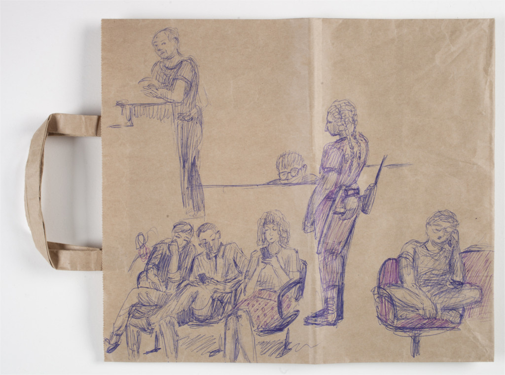 Anna Tereshkina, Untitled (from the police station series), 2020 (front). Collection Stedelijk Museum Amsterdam