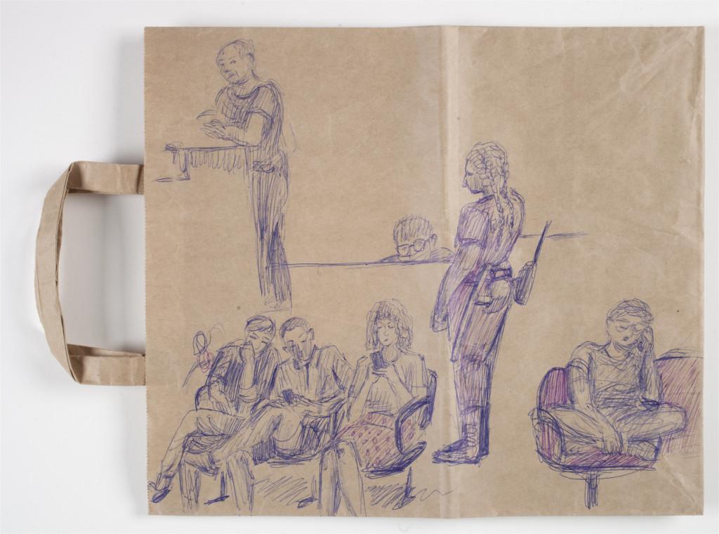 Anna Tereshkina, 'Untitled (from the police station series)', 2020 (voorzijde). Collectie Stedelijk Museum Amsterdam.