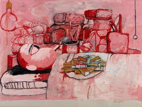 painting smoking eating philip guston stedelijk museum amsterdam