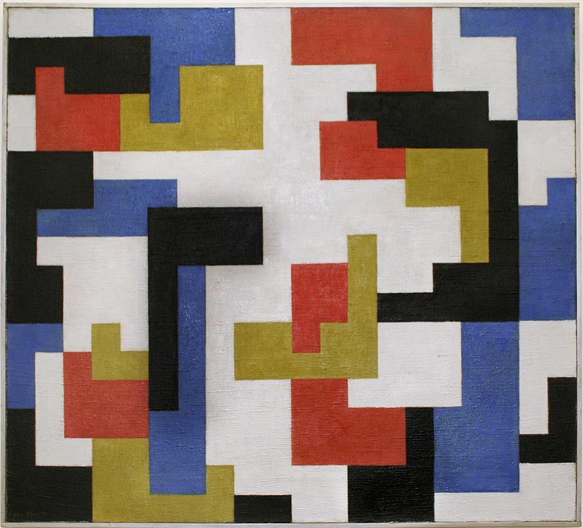 Chris Beekman, Composition, 1920, collection Stedelijk Museum Amsterdam