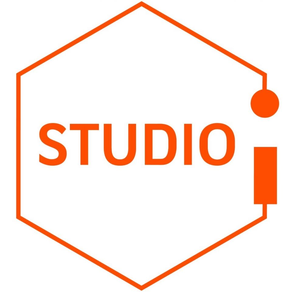 Hexagon-logo van STUDIO i