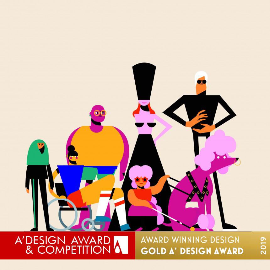 De animatie van STUDIO i heeft een A'Design Award gewonnen