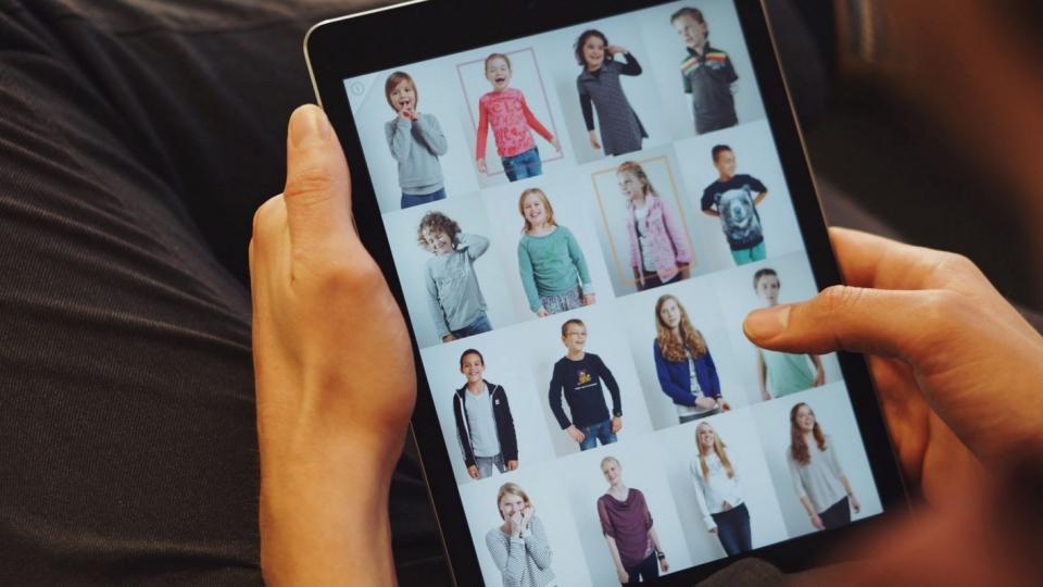 Special Guest app op een tablet