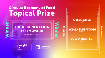 circular economy of food topical prize winner and runner ups announcement