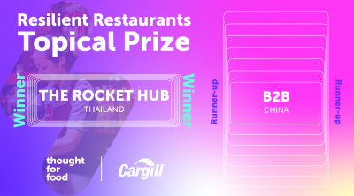 resilient restaurants topical prize winner and runner up announcement