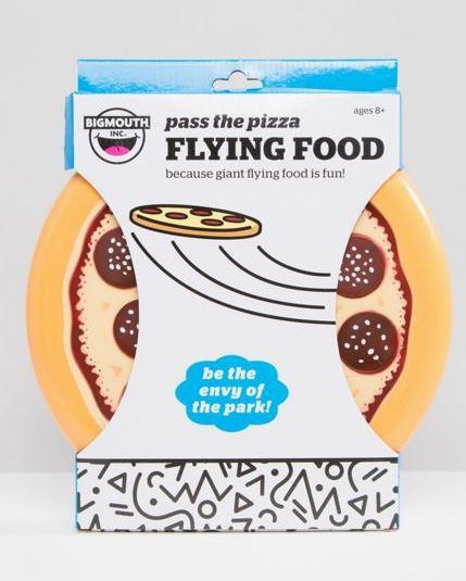 pizza-frizbee