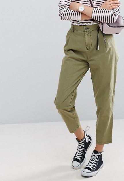 khaki trousers ASOS