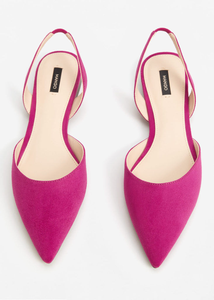pink slingback shoes affordable fashion