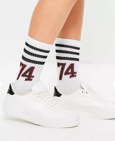 varsity ankle socks