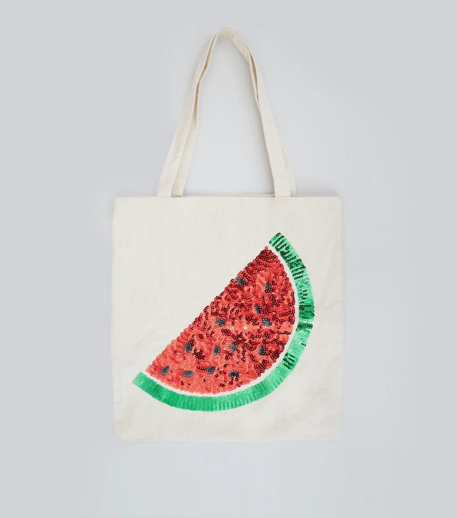 Earth Day 2017 watermelon shopping bag