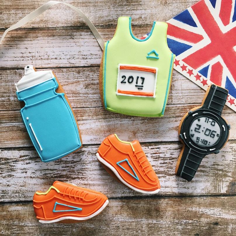 Marathon 2017 biscuits