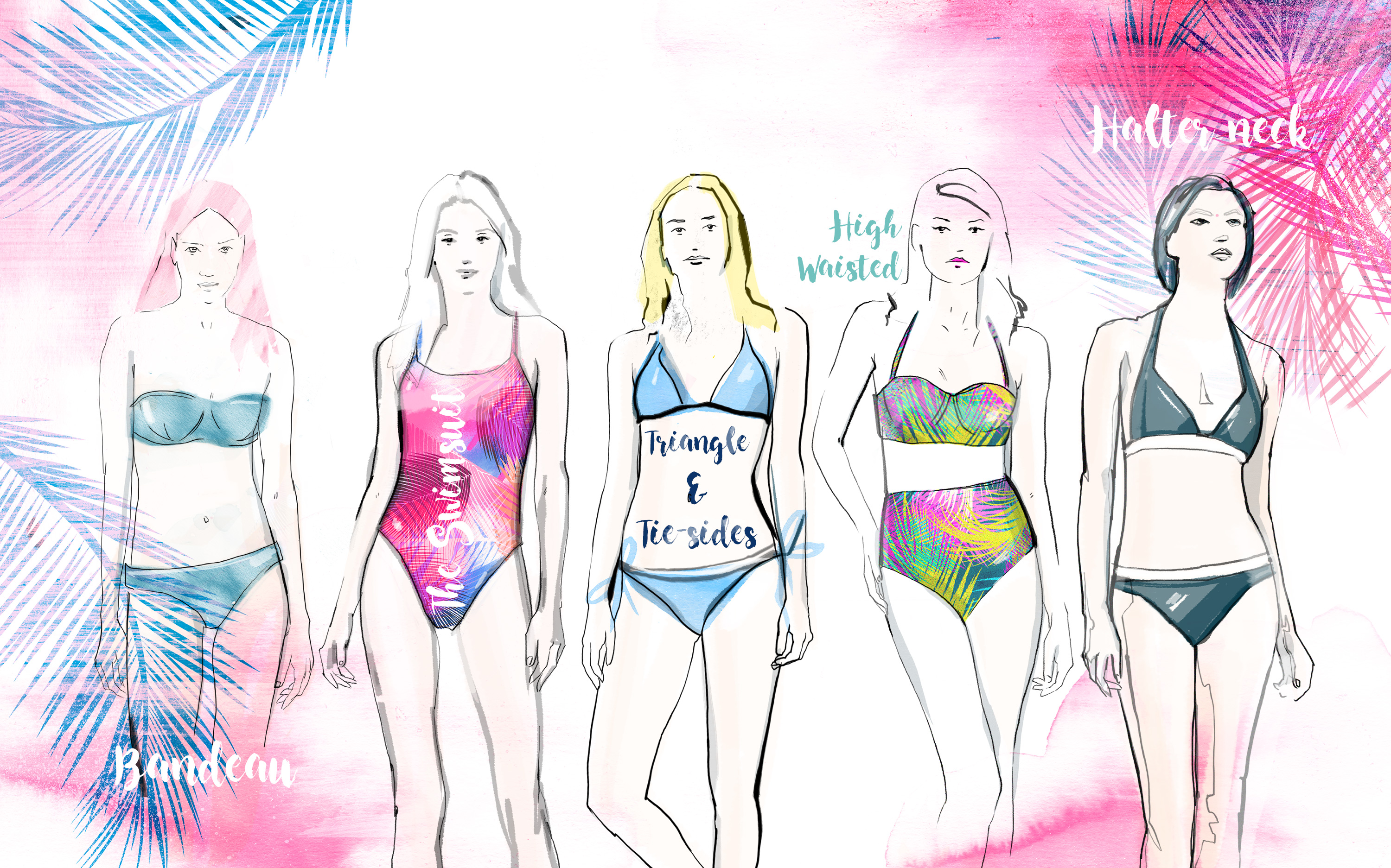 how to choose swimwear for your shape and style